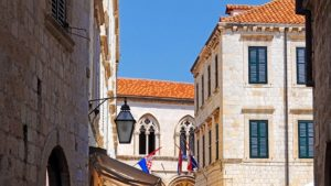 Houses in Dubrovnik, Croatia. Nery Alaev discusses ESRB warnings